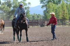 clinic with John Lyons in Idaho 2