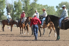 clinic with John Lyons in Idaho